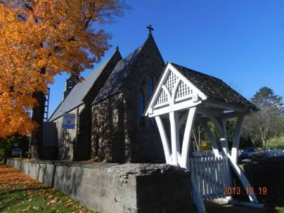 Fall picture of St. Anne's Chapel of Ease
